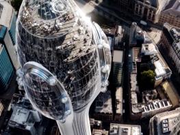 Оригинална сграда изниква в сърцето на Лондон